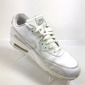 Nike AIR MAX 90 Leather White 302519-113 MENS